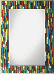 colorful mirrors custom mosaic mirror colorful large by jh mosaics