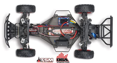lade per scale interne slash vxl brushless shourt course truck rtr oba tsm 2