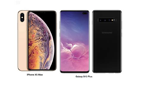 tspn1 samsung galaxy s10 plus vs iphone xs max specs comparisons