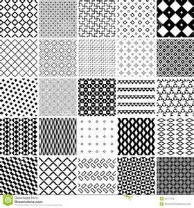 vector pattern set seamless pattern stock photo image 34717570