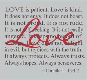 Is patient love is kind corinthians love is patient love is kind