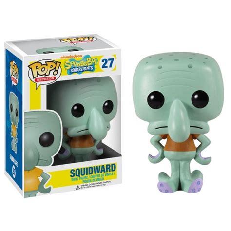 pop television spongebob squidward vinyl figure by
