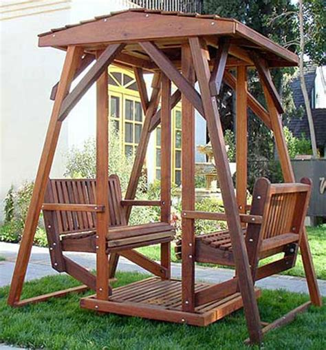 face to face glider swing face to face swing mature redwood or treated pine swings