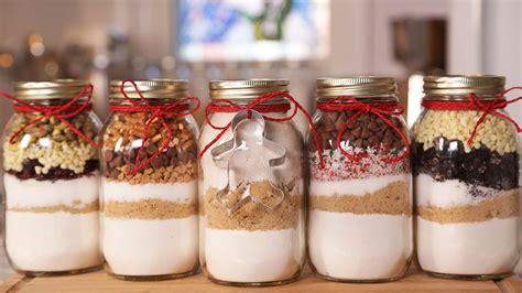 christmas cookies in a jar the domestic geek