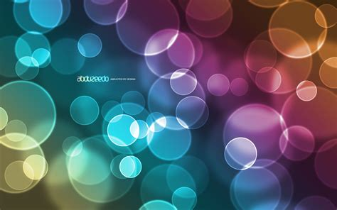 tutorial wallpaper photoshop awesome digital bokeh effect in photoshop