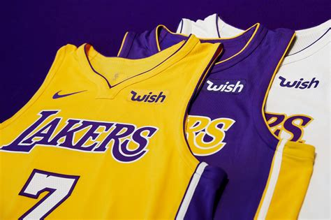 La Lakers 1 lakers partner with wish los angeles lakers