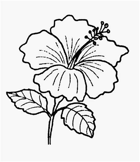 gambar lukisan pokok sketch coloring page