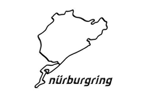 Aufkleber Nordschleife by N 252 Rburgring 3d Sticker Nordschleife 12cm Fan Articles
