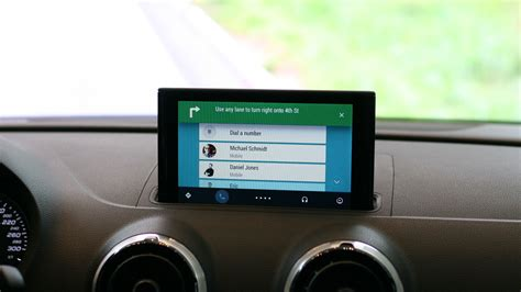 Android Auto by On With The Audi A3 With Android Auto