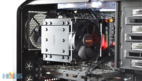Cooler Cpu Fan Bequet Rock Pro3 Dual Fan review be rock pro 3 cooling hexus net