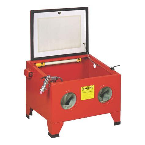 Air Compressor For Sandblasting Cabinet by Matching Sandblast Cabinet With Air Compressor Mig
