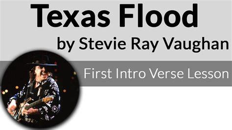 texas flood  intro verse stevie ray vaughan guitar lesson youtube