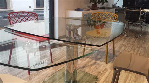 lade da tavolo in vetro tavolo di cristallo rotondo