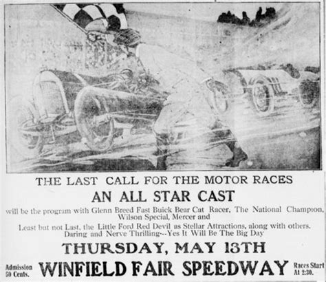 winfield motors winfield kansas last call for the motor races at the winfield fair