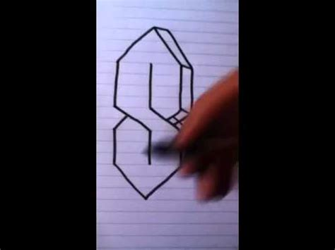 S Drawing 3d by How To Draw A 3d S