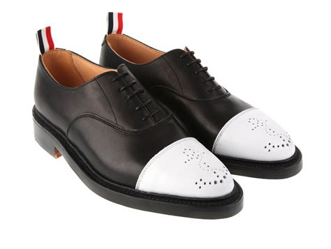 2 tone oxford shoes thom browne two tone s oxford shoes selectism