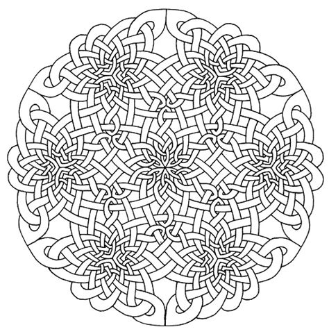shamrock mandala coloring pages celtic mandalas to color www imgkid com the image kid