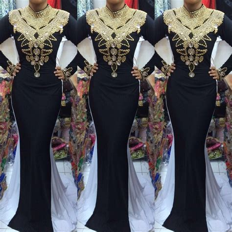 Kaftan Naira lovely and heavily embroidered kaftans fashion nigeria