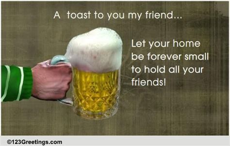 A Friendship Toast For Your Friend! Free Friendship Etc