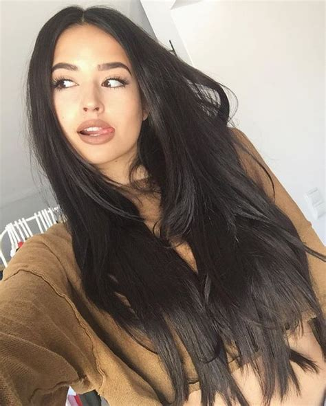 good color on a hispanic with black hair the gallery for gt dark brown hair pinterest