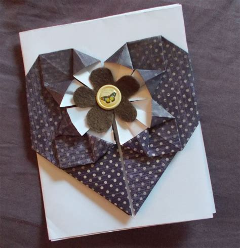Origami Card Ideas - ten ideas for origami greeting cards