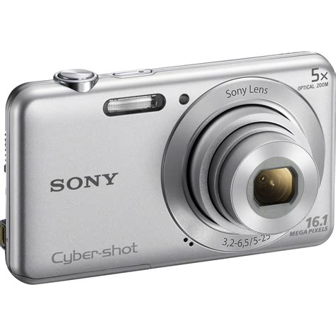 Kamera Sony W710 Sony Cyber Dsc W710 Digital Silver Dsc W710 B H
