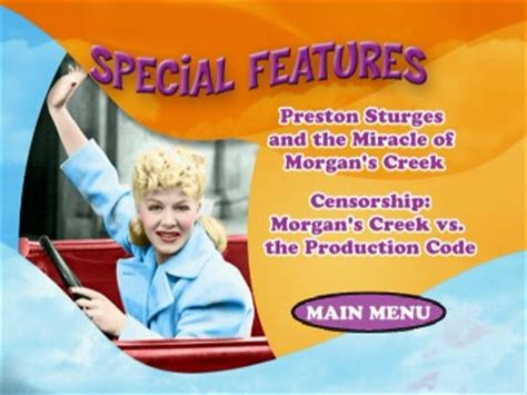 The Miracle Of S Creek The Miracle Of S Creek Betty Hutton