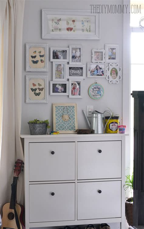 entryway shoe cabinet with doors our small entry before and after our diy house the