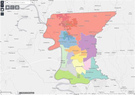 louisiana election map louisiana city makes election data available through gis
