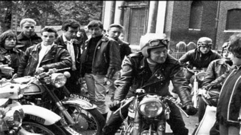 Motorrad Gang Usa by Mods And Rockers Youtube