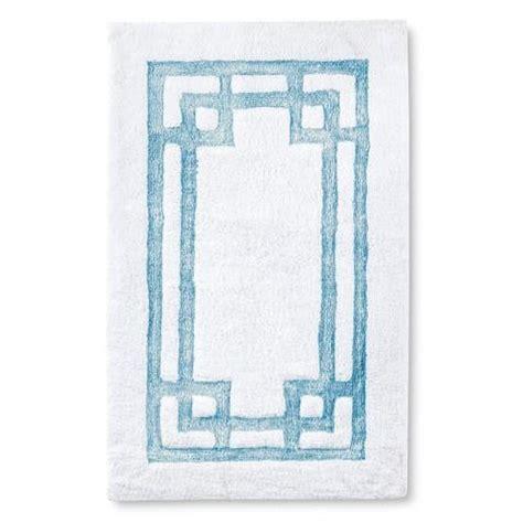 Blue Pattern Bath Rug | fieldcrest luxury blue pattern bath rug