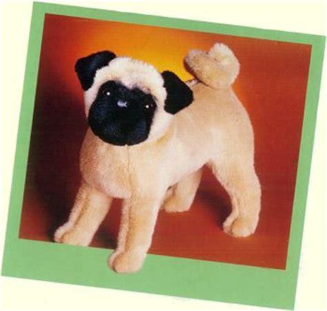 realistic stuffed pug and puppy plush stuffed animals toys