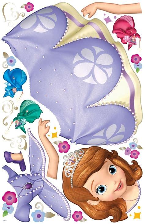 princess sofia wall stickers new sofia the wall decals disney princess stickers room decor