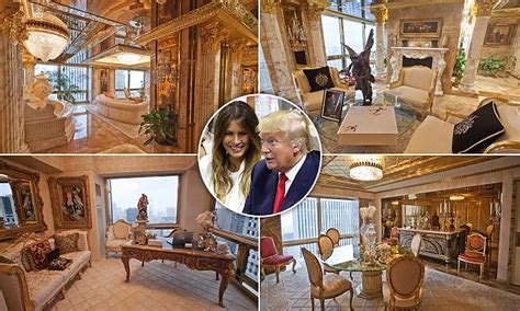 inside trumps house peep the insides of donald trump s 100m penthouse