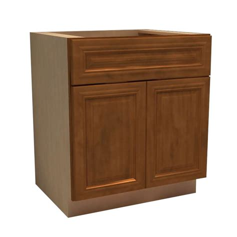 Kitchen Cabinet Sink Base Assembled 60x34 5x24 In Sink Base Kitchen Cabinet In Unfinished Oak Sb60ohd The Home Depot