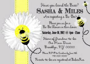 to bee baby shower invitation bee baby shower invitation