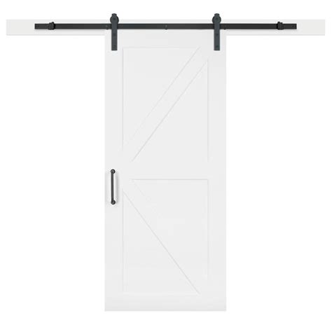 jeff lewis barn doors jeff lewis 36 in x 84 in white collar k bar mdf barn