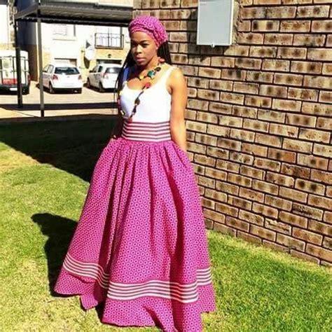 seshoeshoe fashion dresses shweshwe seshweshwe african pinterest