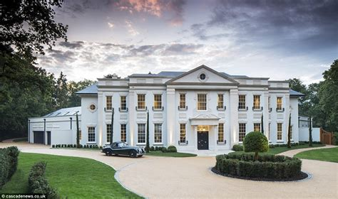 Large Estate House Plans by Surrey Mansion With Eight Bedroom Suites And Private