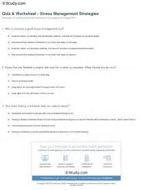 stress management worksheet tecnologialinstante
