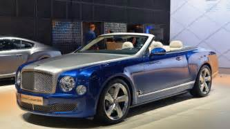 Bentley Hardtop Convertible Bentley Mulsanne Grand Convertible Due In 2017 Speed 6