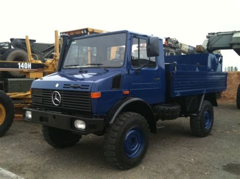 mercedes truck 4x4 mercedes unimog u1300l fuel truck 4x4 for sale