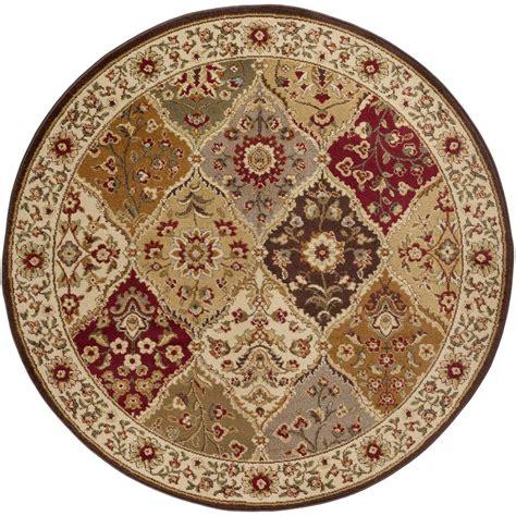 10 Ft By 7 Ft Rugs - tayse rugs elegance multi 7 ft 10 in x 7 ft 10 in