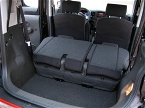 nissan cube interior backseat review 2009 nissan cube s is unbalanced in a way