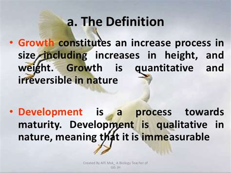 unauthorized biography definition 8 1 growth and development