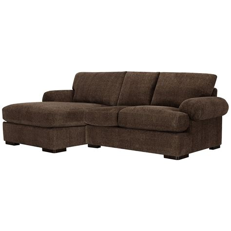 microfiber chaise sectional city furniture belair dk brown microfiber left chaise