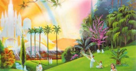 gambaran surga  keindahan taman surga hargaikataku