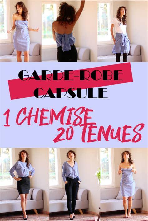 garde robe minimaliste femme garde robe minimaliste 1 chemise 20 tenues iznowgood