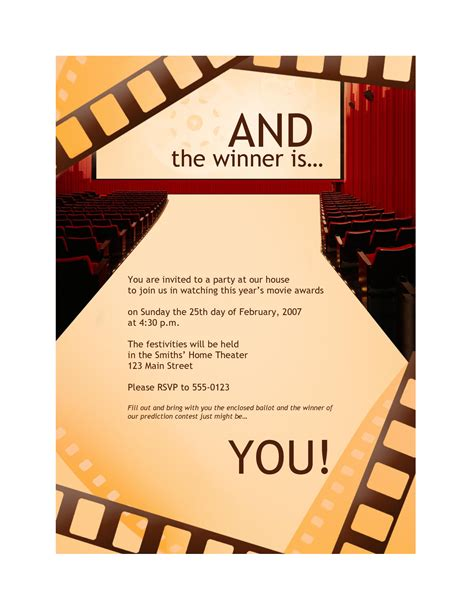 banquet invitation templates free awards banquet invitation templates