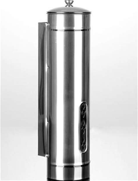Water Dispenser With Cup Holder quality water dispenser ss201 stainless steel disposable cup holder 34xd8 5cm polished storage